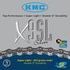 KMC X-9-SL Kette silver